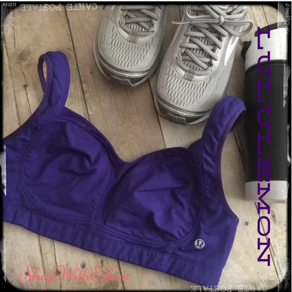 cacb8f0445f69 lululemon athletica Other - LULULEMON TA TA TAMER PURPLE Bra 💜